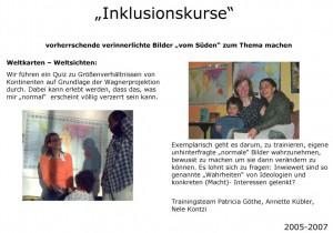 Trainings mit Flüchtlingen und MultiplikatorInnen